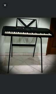 Brand New 61 Keys Keyboard with stand for sale