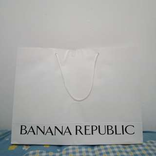 Paperbag banana republic