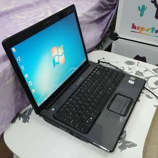 HP V3175TU Windows 7 Pro (English) with Brand New Battery