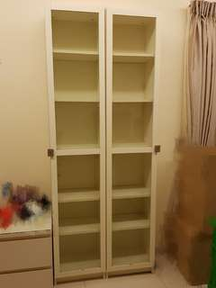 Price reduced! IKEA White Display Cabinet with Lock