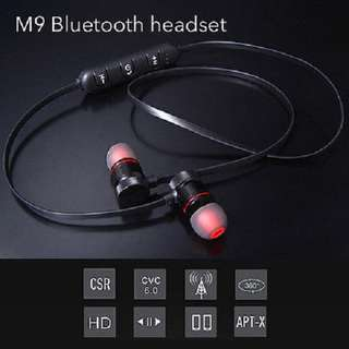 MAGNET SPORTS BLUETOOTH WIRELESS STEREO HEADSET (Sweatproof Headphones)
