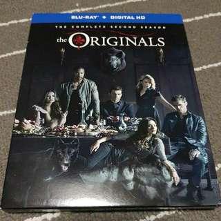 Pre-loved USA Original The Original Season 2 Blu Ray Bluray