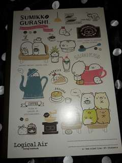 SUMIKKO GURASHI 7mm B5 notebook