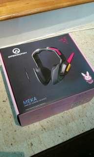 Overwatch Dva Razer Analog Gaming Headset