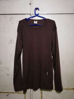 Brown long sleeves shirt