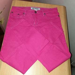 size 29 pink pants
