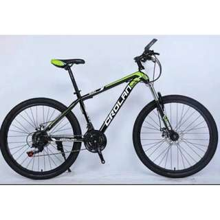 "24"" CL500 MTB / Mountain Bike, 21Speeds, Disc brakes, Front suspension. Brand new bicycle"