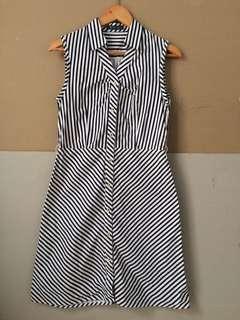 NOTON Dress Stripe