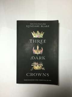 THREE DARK CROWNS BOOK