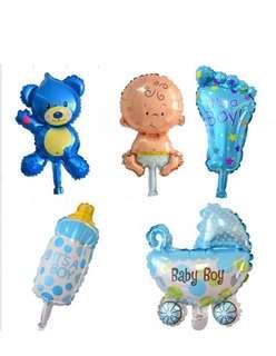 Baby shower for boys balloons set 🎈🎈🎈