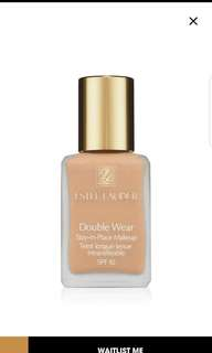 Estee Lauder Double Wear Foundation 4N1 Shell Beigh
