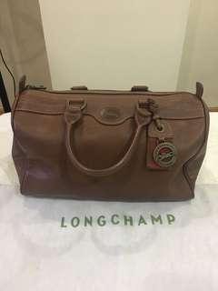 Authentic Longchamp Au sultan leather bag