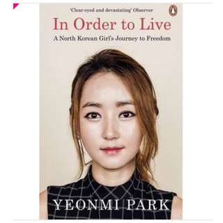 (ebook) in order to live