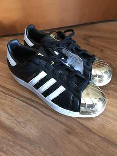 Adidas Superstar 黑金