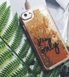 BN Gold Glitter iphone 7/8 Plus Cover