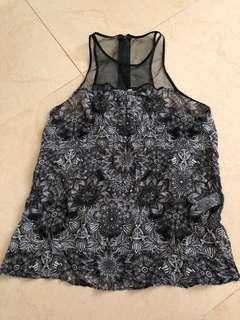 Helmut Lang vest set 2 items