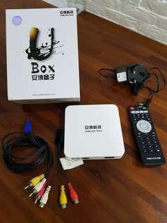 Ubox TV box