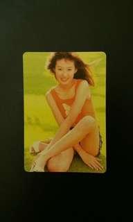 《金田一少年事件簿》友板理惠 Yes Card 閃卡三張