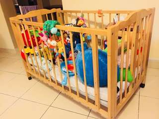 Baby Cot ( used )