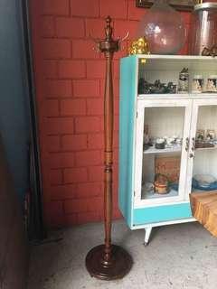 Vintage Clothes Hanger(Burma teakwood)