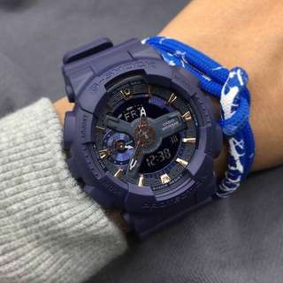 GSHOCK GA110 NAVY BLUE