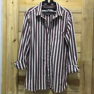 Global Work Men's Striped Shirt