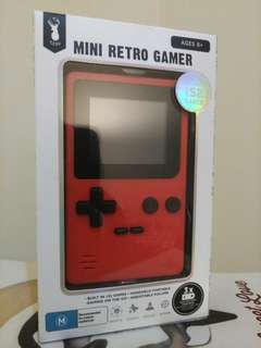 NEW TYPO retro mini gamer handheld