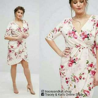 Floral Plus Size Dress