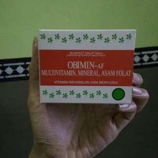 OBIMIN vitamin kenamilan dan menyusui