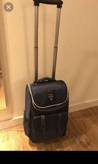 Anello like back pack Trolley 4 wheels luggage