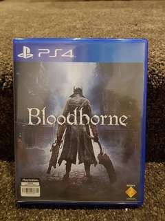 Ps4 Games Bloodborne, Dishonored 2, Metal Gear Solid The Phantom Pain, Assasin's Creed Syndicate, Uncharted 4.