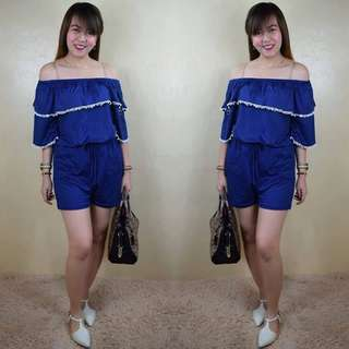 Off shoulder jumpshort