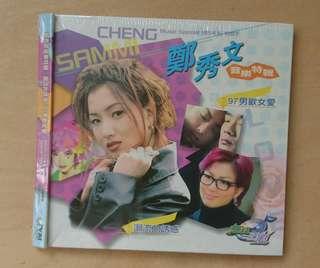 (絕版全新) 鄭秀文正版TVB音樂特輯VCD