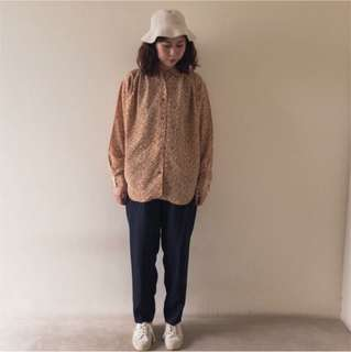 🚚 日本製🇯🇵深藍色高腰西裝褲❤️任選賣場兩件減100✨古著復古vintage