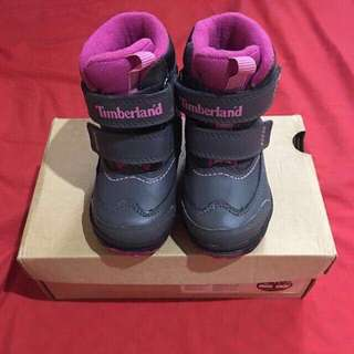 Authentic Timberland Toddler's Polarcave Boots