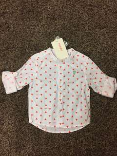 Poney baby boy shirt