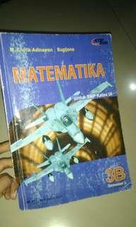 Buku matematika untuk SMP kelas IX semester 2