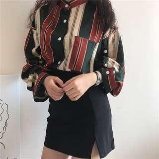 Free postage 🔥 Korean chic style BF loose blouse