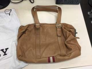 80%新 Bally leather bag