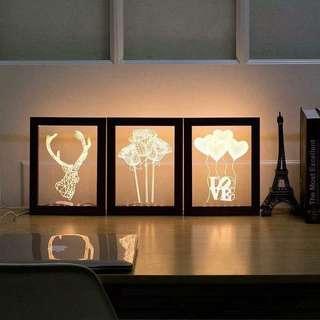 3D Photo Frame Lamp