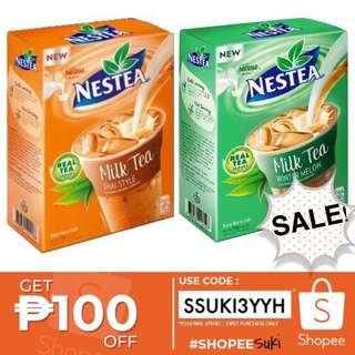 Rush Sale! Nestea milk tea sold per box thai or wintermelon
