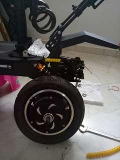 Hm motor escooter 52v 2000w dual suspension dual motor ultron
