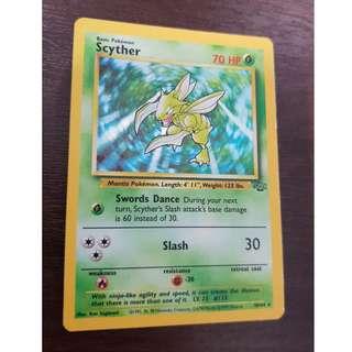 Pokemon - Scyther (Holo) 10/64