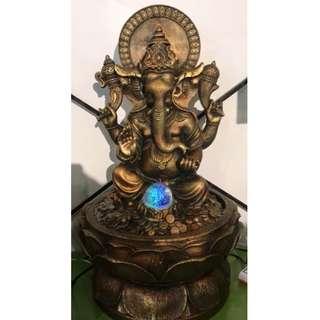 Ganesha Water Fountain got 2 Size