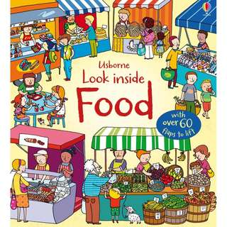 Usborne Looks inside Book - Food ( All Paperback Books and Brand New )