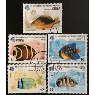 國家水族館35週年紀念郵票