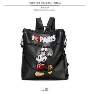 Mickey Mouse Leather Bag