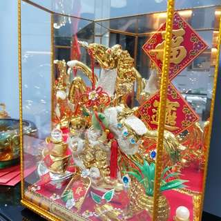 Fengshui Horse Display