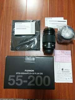 🚚 降價!! FUJI XF55-200mm 長鏡頭+濾鏡