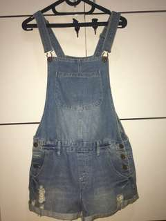 DENIM OVERALL COTTON ON